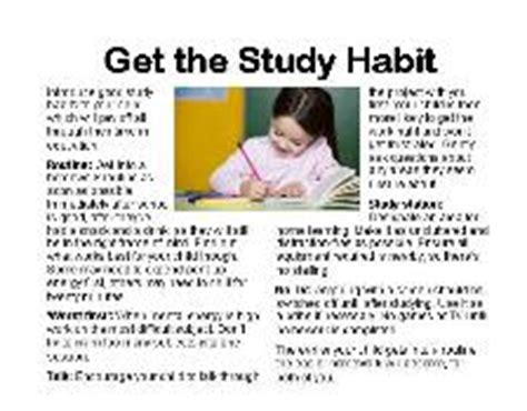 7 Of My Favorite Study Habits And Helpers by Study Habits Chart Help Succeed While