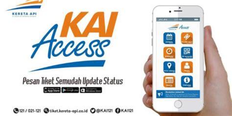 KAI Access, lebih mudah pesan tiket kereta & ada diskon 40