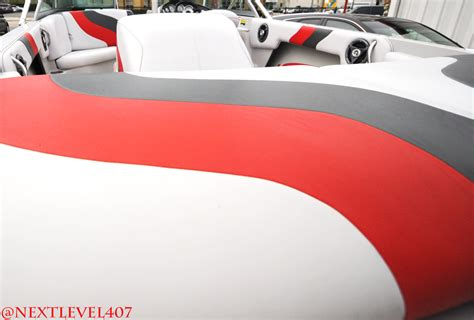 moomba boat upholstery detailed upholstery