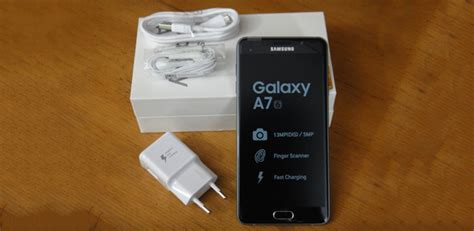 Samsung Galaxy A7 Unboxing samsung galaxy a7 unboxing and impressions