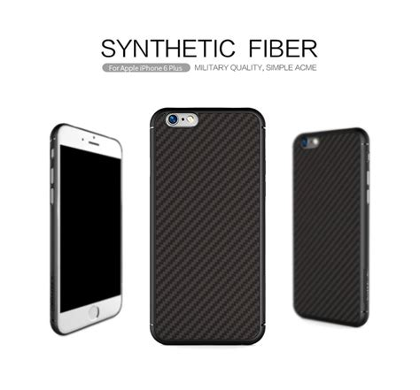 Nillkin Synthetic Fiber Iphone 6 Plus 6s Plus Blackhita 盻壬 l豌ng nillkin cacbon synthetic fiber cho iphone 6 plus