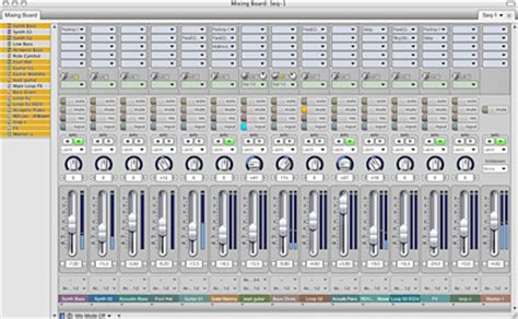 Sound Desk Software by Motu Mixing