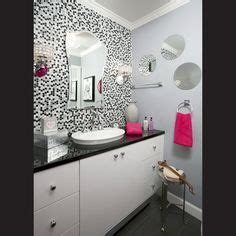 pink black and white bathroom decor our room on pinterest hot pink pink vanity and pink