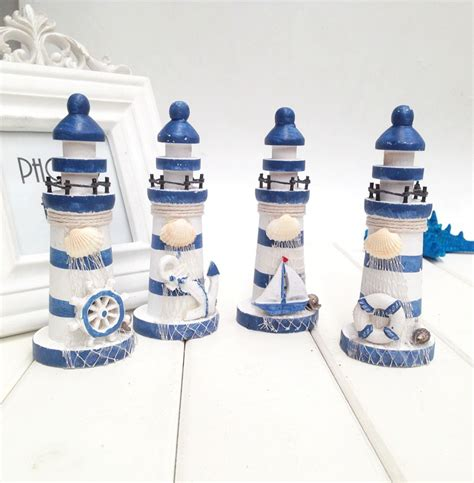 mediterranean home decor lighthouse wood manualidades
