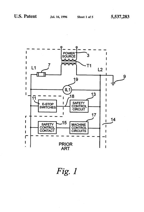 integrated ground fault detection circuit patent us5537283 ground fault detection circuit for an ungrounded system patents