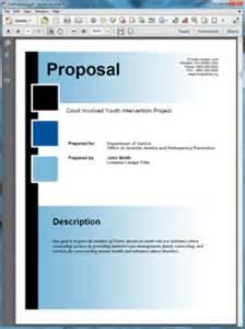 doj federal government grant proposal