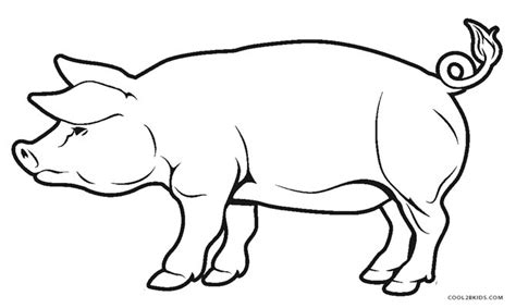 coloring page pigs free printable pig coloring pages for kids cool2bkids