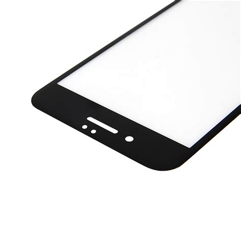 Tempered Glass Nero by Tempered Glass Iphone 7 Plus Front Nero Per
