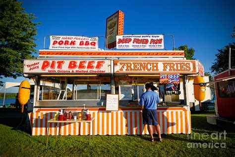 Man Home Decor by Carnival Concession Stand Photograph By Amy Cicconi