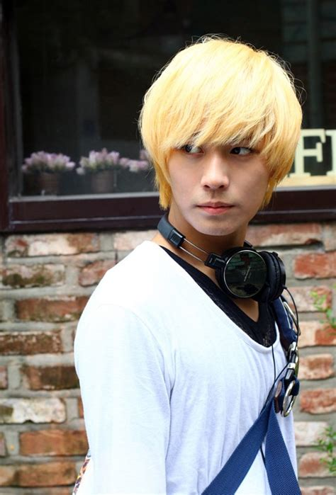 hot 90s boy dyed blonde teenager 75 best asian haircuts for men japanese hairstyles