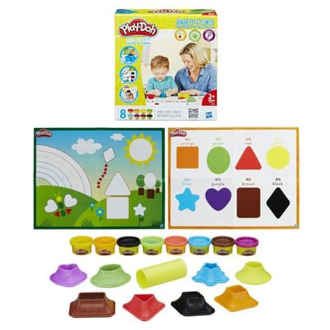 Play Doh Shape Learn Colors And Shapes play doh shape and learn colors and shapes hasbro play doh creative toys at entertainment