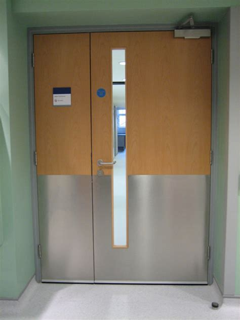 Hospital Door by Unitline Systems High Wycombe Buckinghamshire Doors And