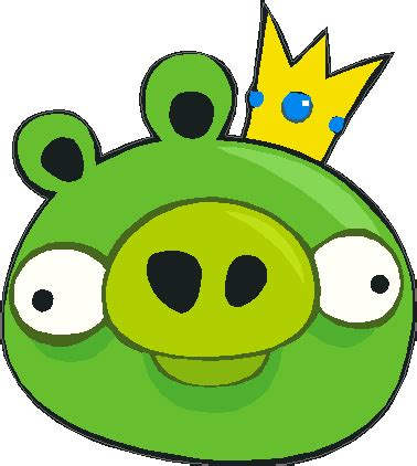 Angry Birds Isi 4 angry birds king pig house of grafix