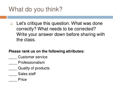 Survey Questions Value For Money - nov16 2016 survey research constructing questions