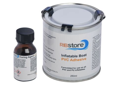 rib boat glue ribstore inflatable boat dinghy 2 part pvc marine adhesive