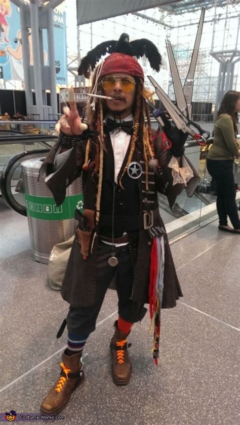 mashed  johnny depp characters costume