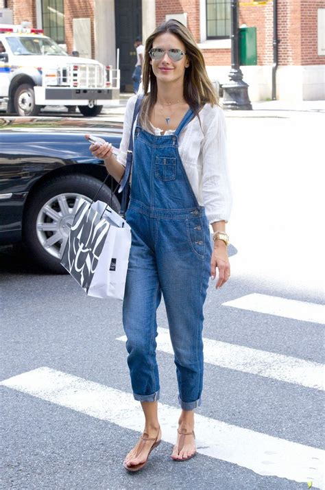 Cargo Jogger Black By Manly Foster alessandra ambrosio in big overalls denimology