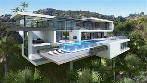home vega plaza design two luxury and modern villas in los angeles