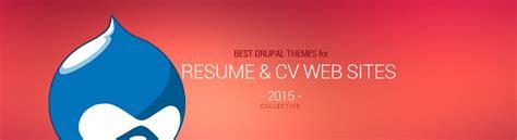 theme drupal cv best responsive drupal resume and cv templates in 2015