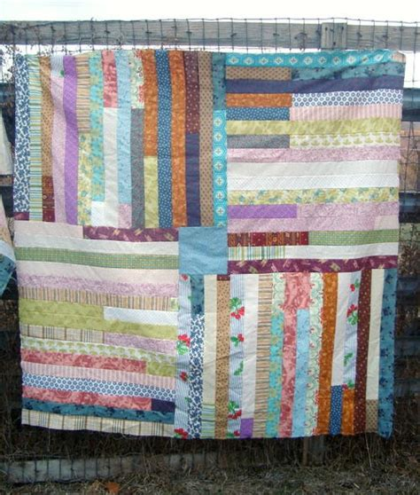 Jelly Roll Quilt Tutorials by Simple Jelly Roll Quilt Tutorial Favequilts