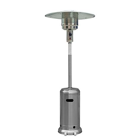 Palm Springs Stainless Steel Propane Gas Patio Garden Restaurant Patio Heaters