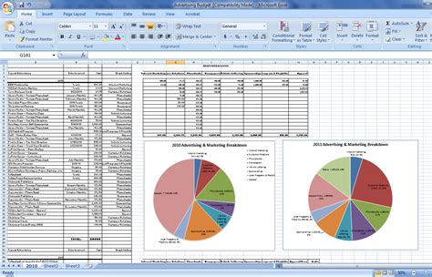 budget breakdown template budget breakdown l gaddy