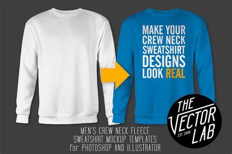 s crew neck sweatshirt templates product mockups