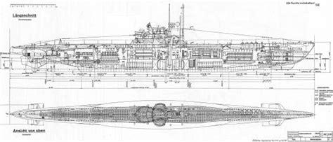 U Boat Drawing by U Boat Cutaway Series By Aviation Heritage Press