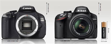 Kamera Nikon D3200 Vs Canon 600d Nikon D3200 Vs Canon 600d