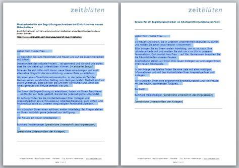 Anschreiben Firma Ansprechpartner Wie W 228 Rs Mit Einem Begr 252 223 Ungsbrief F 252 R Neue Mitarbeiter