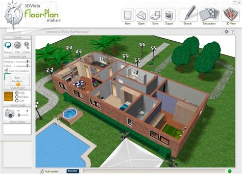 virtual blueprint maker floorplan maker 3dvista professional and free virtual
