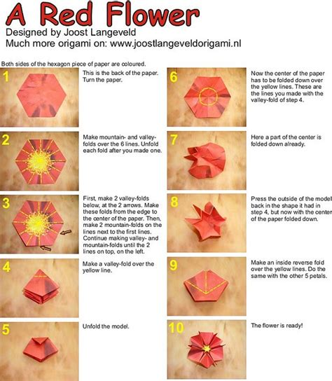 Origami Flower Advanced - 17 best images about origami on origami cranes