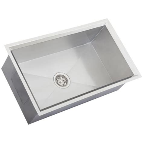 16 stainless steel kitchen sinks ticor s508 undermount 16 stainless steel kitchen sink