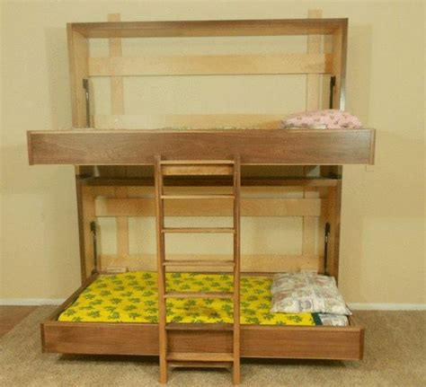 Bunk Murphy Beds How To Build A Murphy Bunk Bed Diy Projects For Everyone
