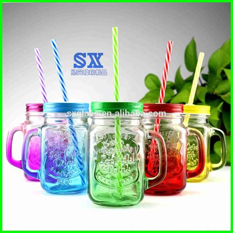 high quality 2017 sale colored 16oz jar and