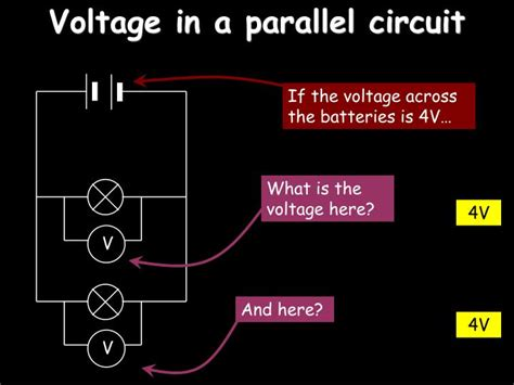 parallel circuits same voltage ppt electricity powerpoint presentation id 7008919