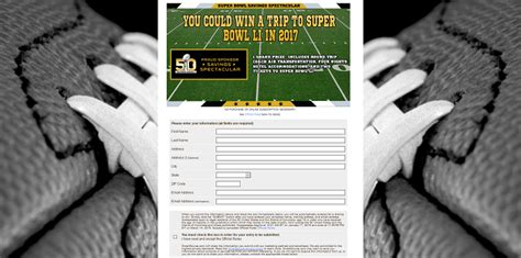 Super Bowl 51 Sweepstakes - smartsource want to send you to super bowl 51 in 2017