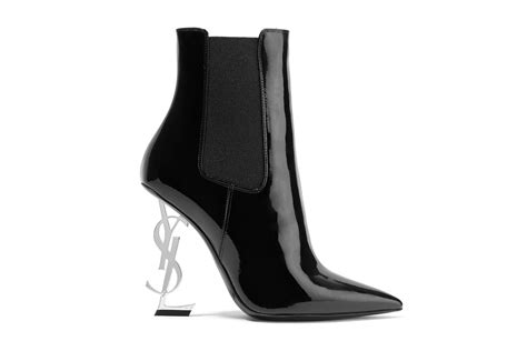 ysl boots are the new laurent ysl heeled ankle boots on your