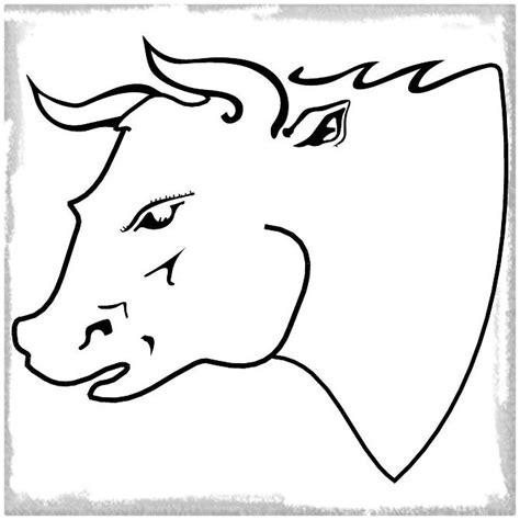 imagenes de vacas para dibujar a lapiz comparte el dibujo de un toro para colorear imagenes de