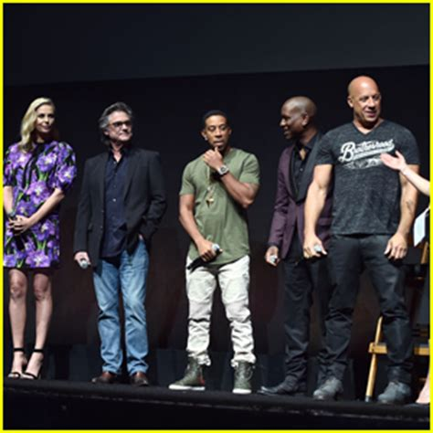 hollywood movie fast and furious actors name vin diesel fate of the furious cast surprise cinemacon