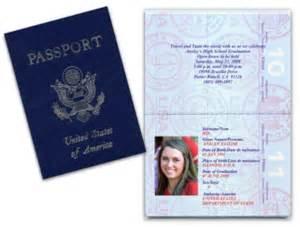 custom passport invitations