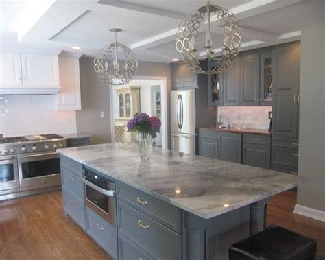 Slate Grey Countertops Kitchen Design Slate Gray Contemporary Kitchen Island