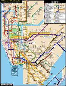 New York City Metro Map by New York City Subway Fantasy Map Revision 13 By
