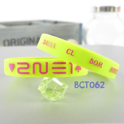 Gelang Rubber Kpop Infinite bracelet rubber part 2 ღjewelgyu shopღ
