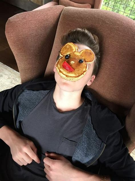 David And Beckham The Easter Egg Heads by Beckham Shares Casual Throwback Snap With