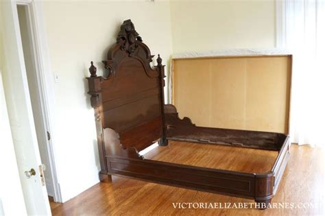 craigslist queen bed frame retrofitting our craigslist bed diy custom antique bed