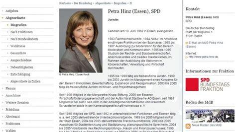 Lebenslauf Abitur Abgebrochen spd bundestagsabgeordnete politikerin f 228 lscht lebenslauf