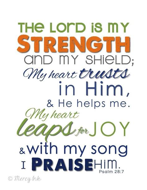 psalms of praise a movement primer baby believer books psalm 28 7 niv the lord is my strength and my shield