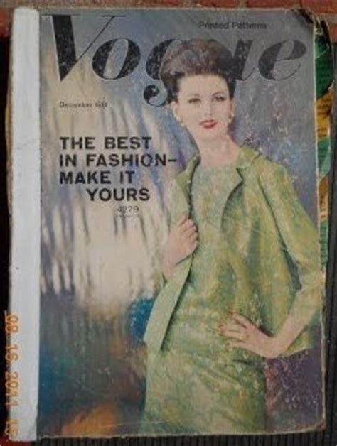 how much did that sell for?!?: vintage 1960's vogue