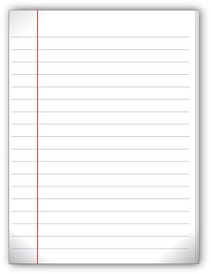 A Blank Piece Of Paper To Write On Ambiguity Of Blank Paper Blank Lined Paper And